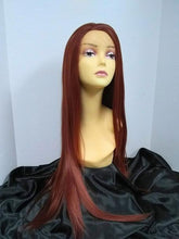 Load image into Gallery viewer, Hawaii Layered Long Straight Lace Front Wig