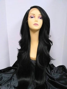 Prudence Extra Long Layered Lace Front Wig