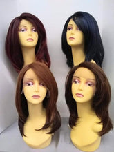 Load image into Gallery viewer, Mercy Layered Lace Front Wig