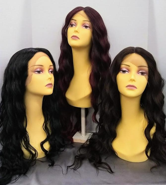 Nixie Long Waves Lace Front Wig