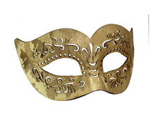 Load image into Gallery viewer, Embossed Cut Pleather Venetian Mask
