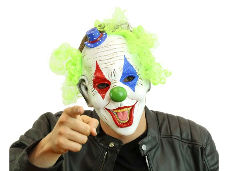 Clown Half Mask
