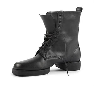 Military Dance Boot Black