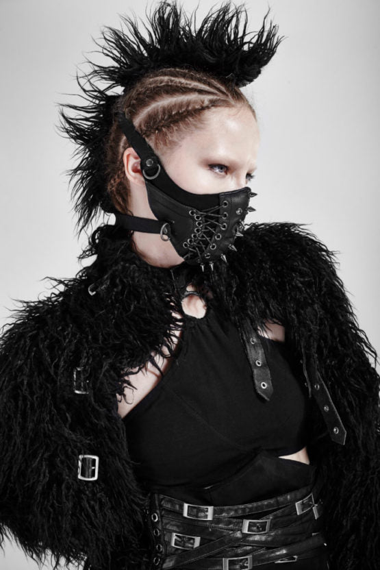Mask Punk w/ Lacing and Studs