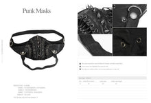 Load image into Gallery viewer, Mask Punk w/ Lacing and Studs