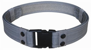 Gray Tactical Belt