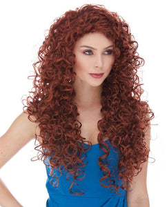 Butterfly Long Curly Wig