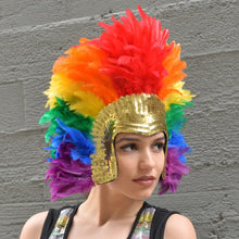 Load image into Gallery viewer, Headdress Rainbow