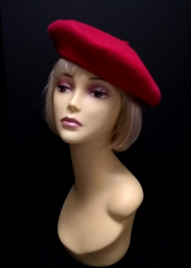 Beret Wool in 4 Colors