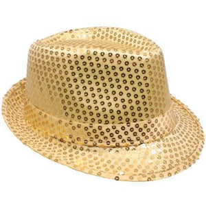 Sequin Trilby Fedora in 4 Colors