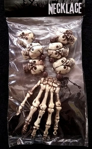 Skull/Hand Bone Necklace