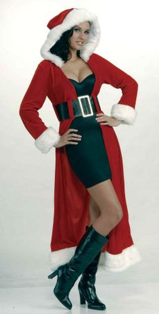 Miss Christmas Long Coat