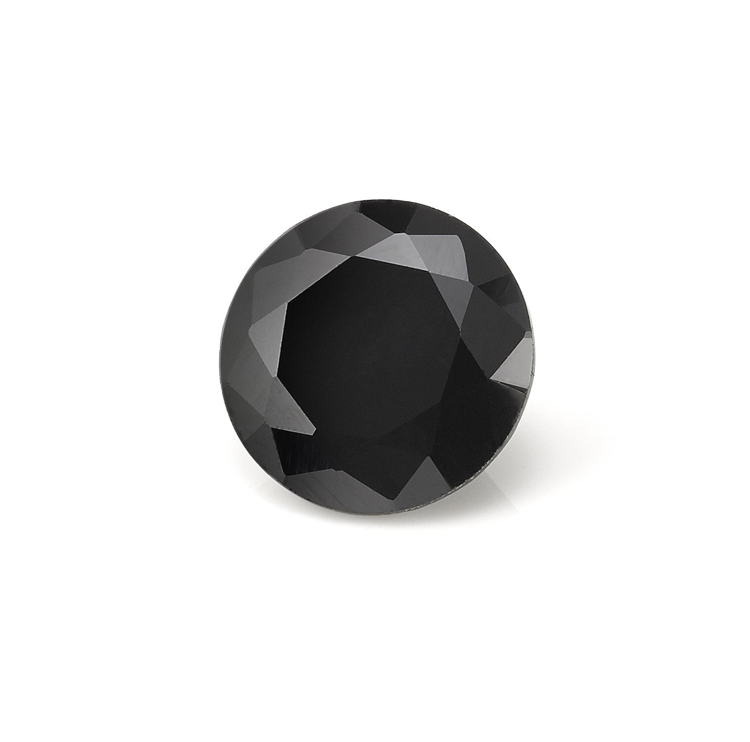 Black Spinel Gem - pair with matching stone earrings.