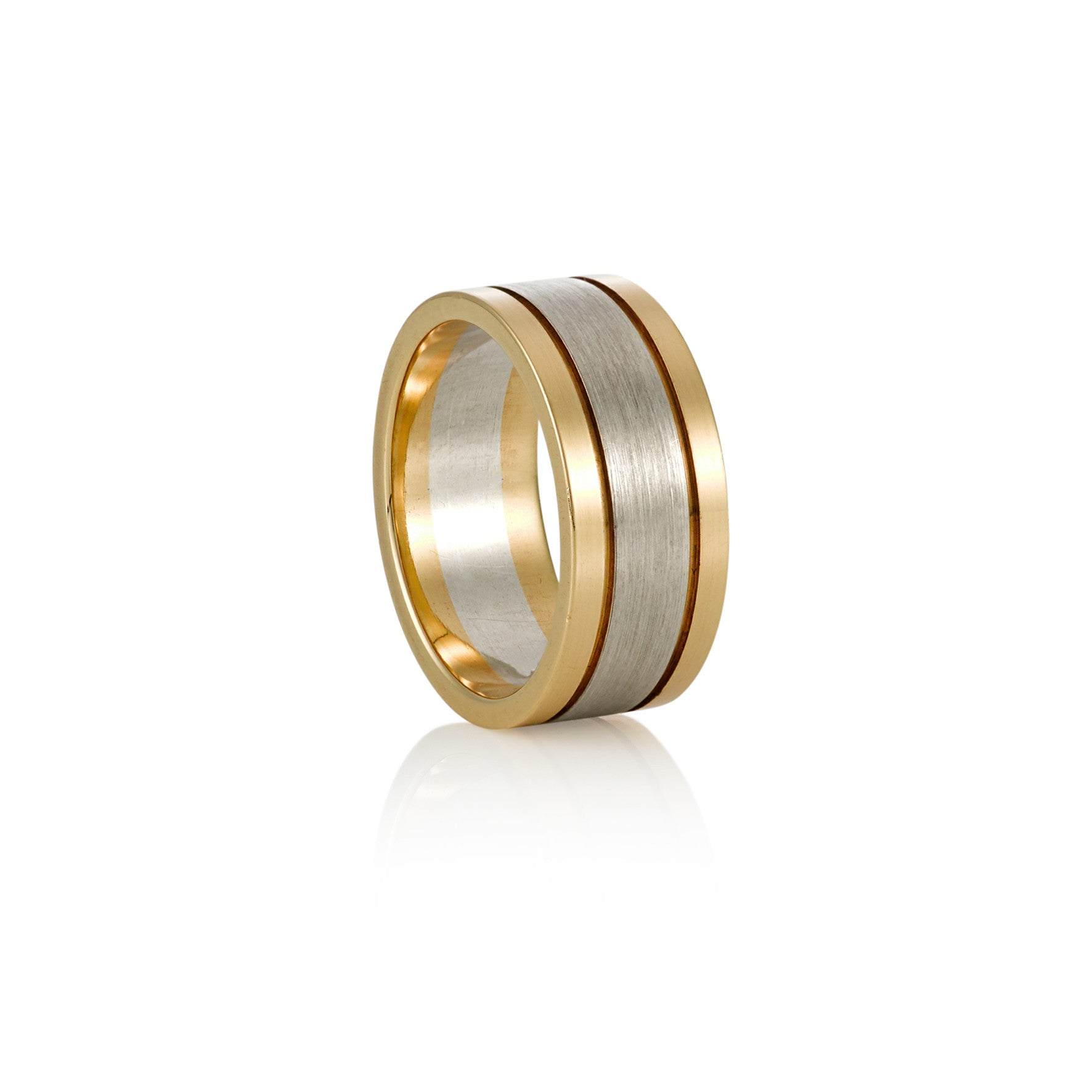 Yellow Gold and White Gold Ring
