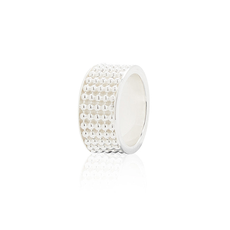 Signature Silver Ring (wide)