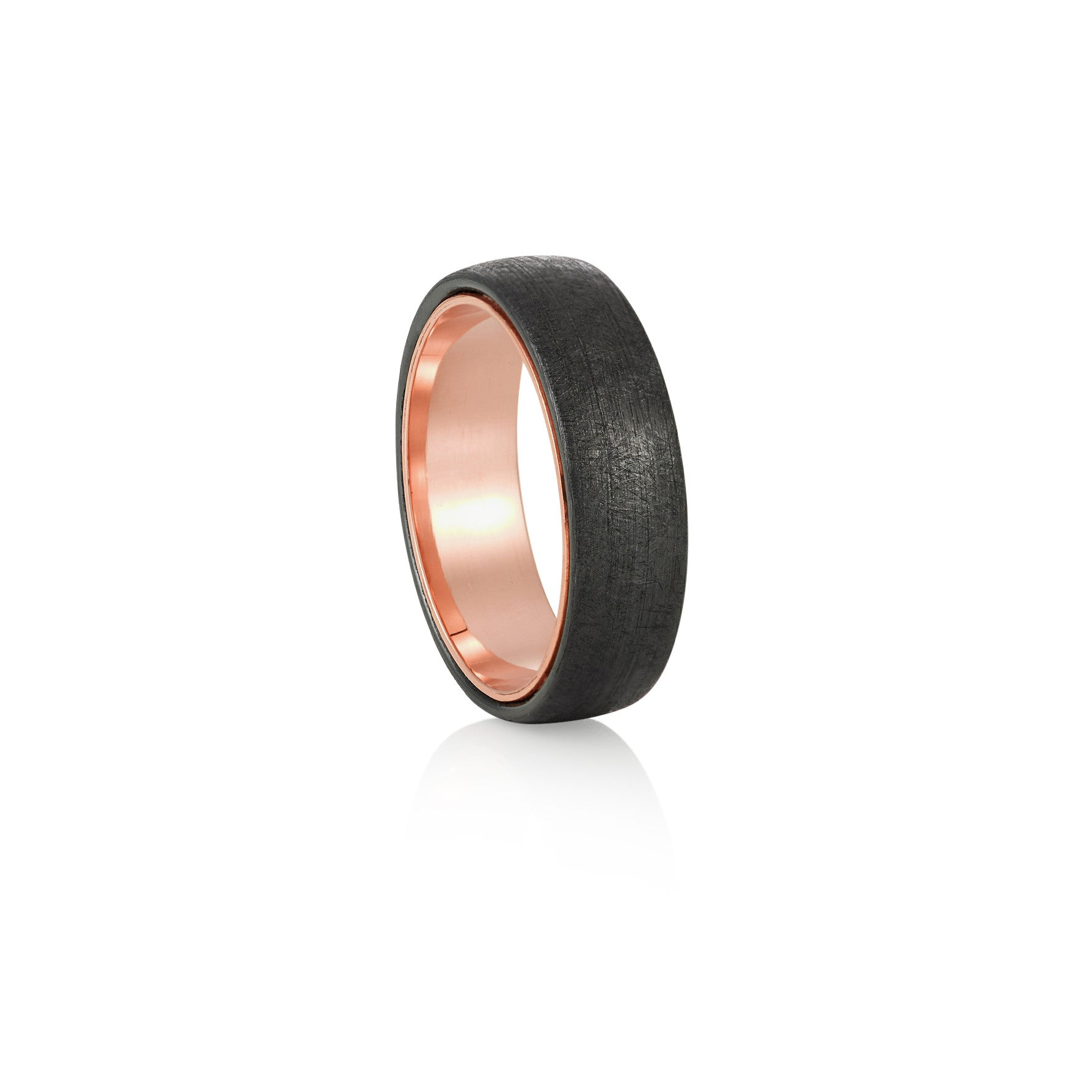 Zircon and Rose Gold Ring
