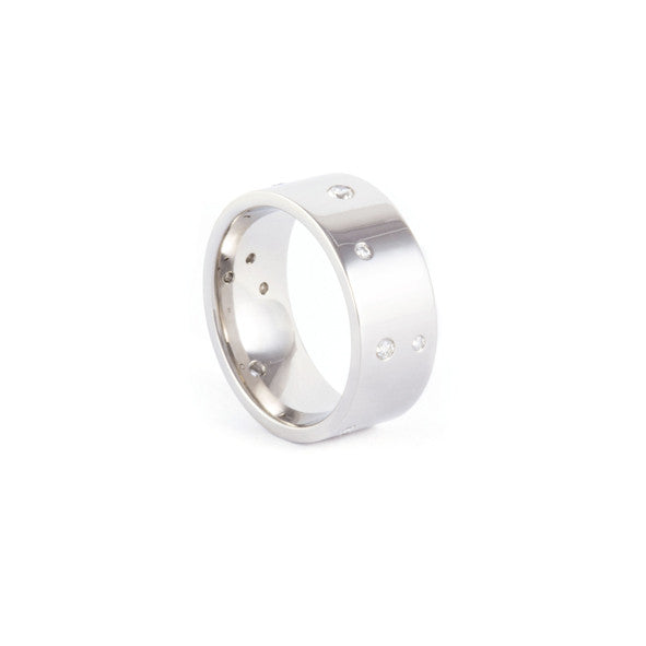 Constellation Wedding Ring - Counter Sunk Setting