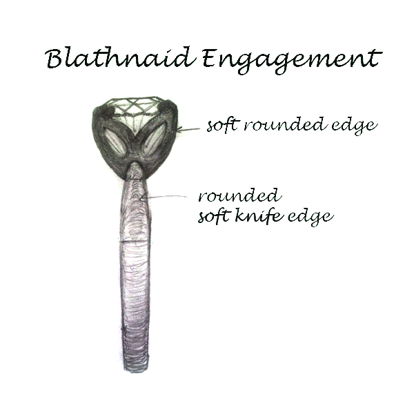 Blathnaid Engagement Ring - Design Process
