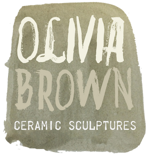 Olivia Brown Ceramic Sculptures