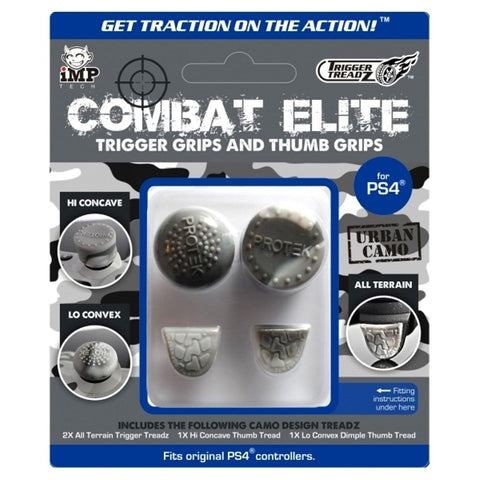 Trigger Treadz Combat Elite Thumb Grips And Trigger Grips PS4