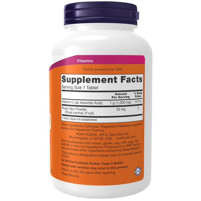 Now Foods - Suplemento de Vitamina C 1000mg - 250 Tabletas