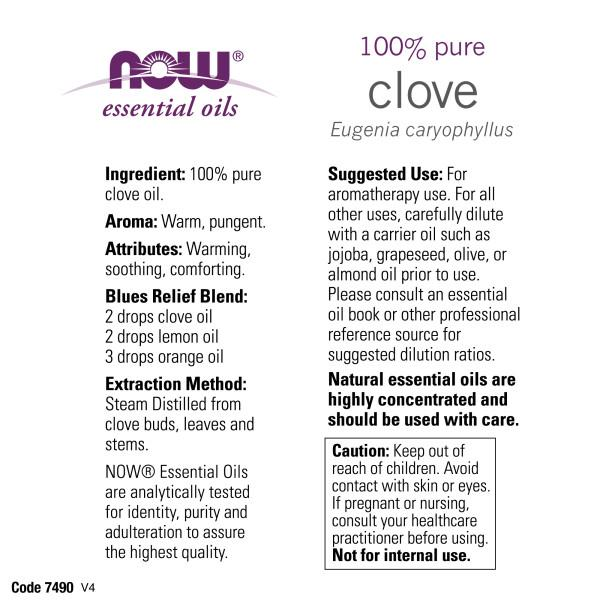 Now Foods - Aceite de Clavo 59ml