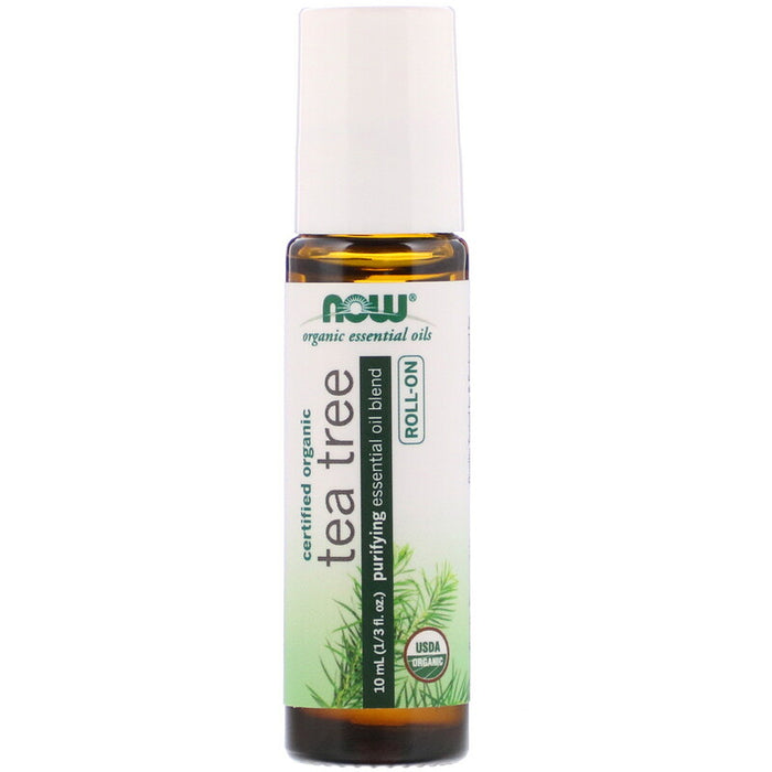 Now Foods - Aceite Esencial de Jojoba y Árbol de Té en Roll On 10ml