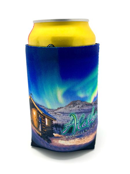 Northern Lights Koozie