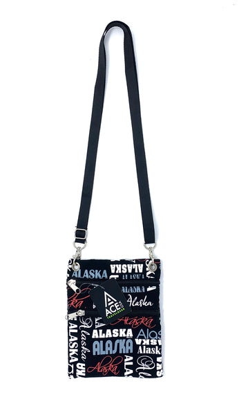 AK Graphic Cross Body Bag