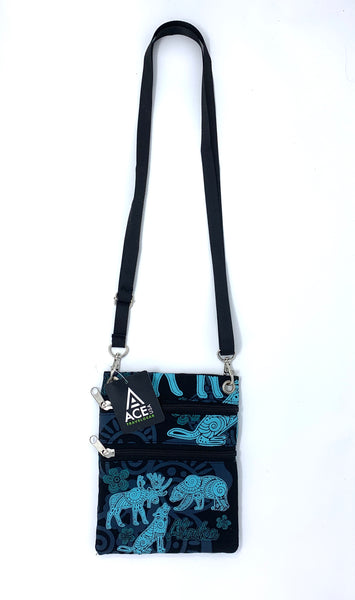 Batik Cross Body Bag