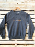 Embroidered Moose Juneau Sweatshirt