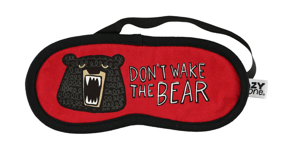 Don't Wake the Bear Sleep Mask