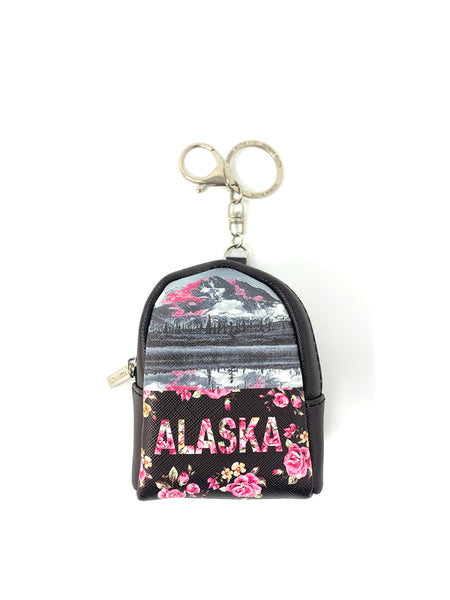 Robin Ruth Pink Floral Mini Backpack