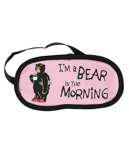 Bear Mornings Sleep Mask