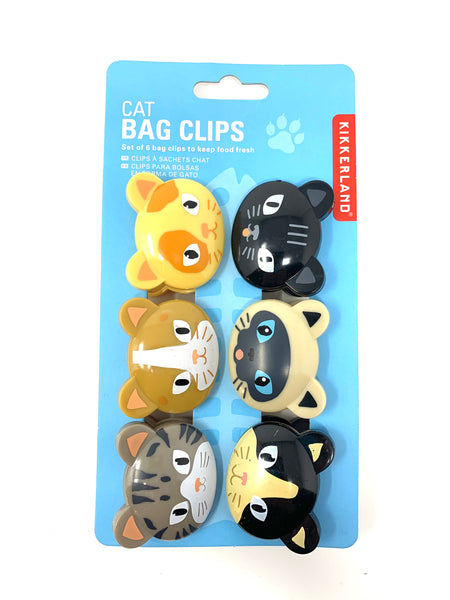 Bag Clips Cats
