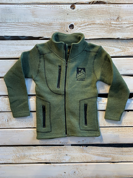Kids Olive Knit Nantucket