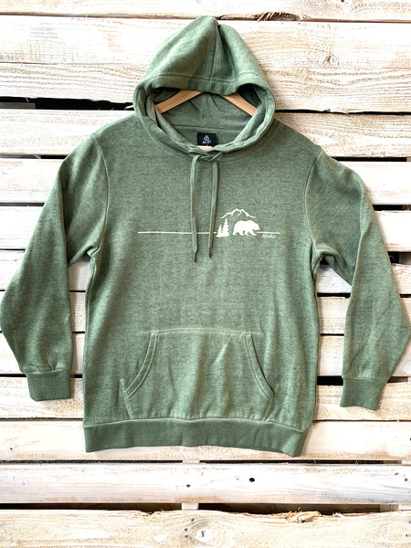 Burnout Lodge Bear Hoodie
