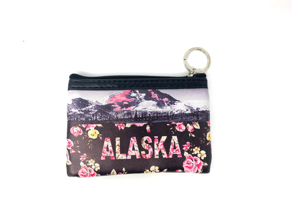 Robin Ruth Pink Floral Coin Purse