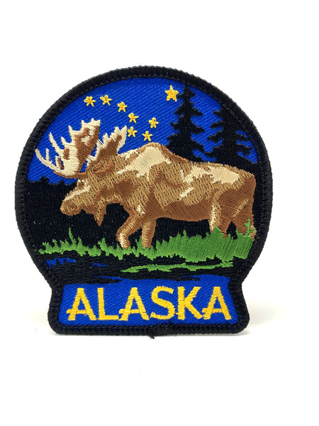 Starry Moose Patch