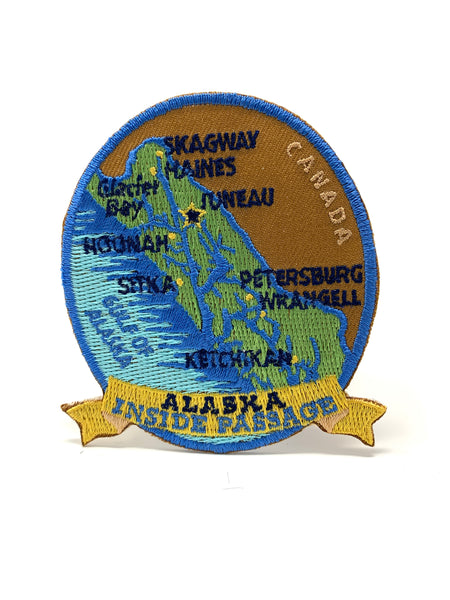 Inside Passage Map Patch