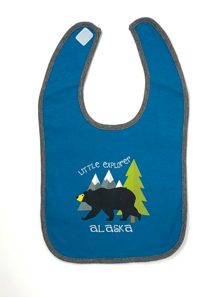 Little Explorer Bear Bib