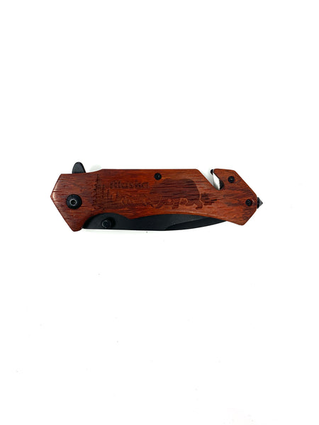 Outdoors Bears Pocket Knife