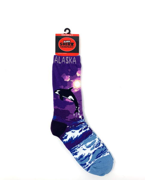 Jumping Orca Socks