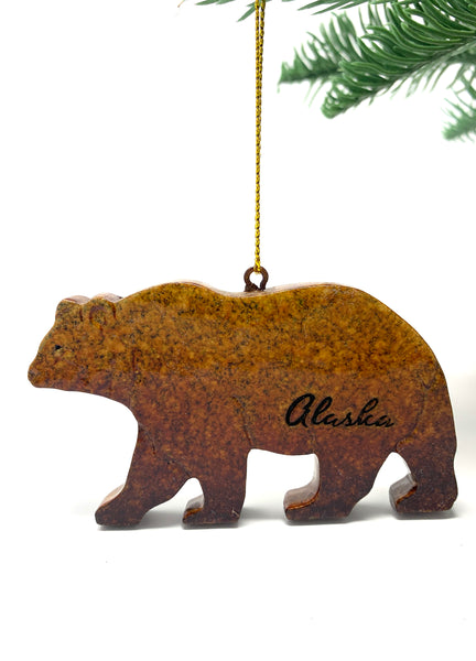 Speckle Bear Ornament