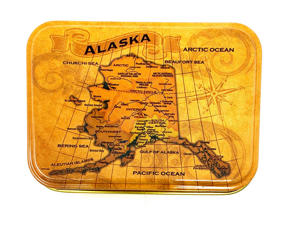 Vintage AK Map Playing Cards