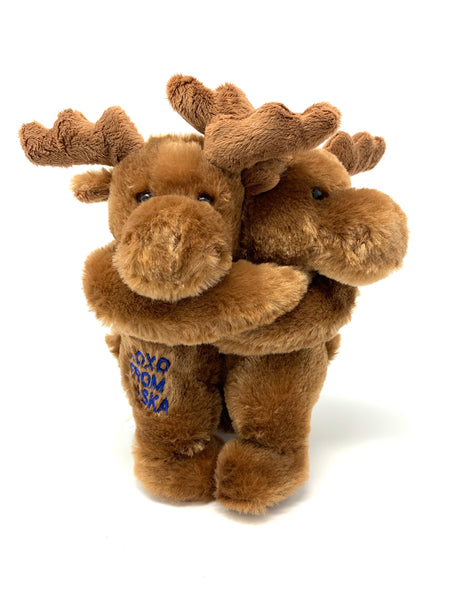 "10"" Hugging Moose Plush"