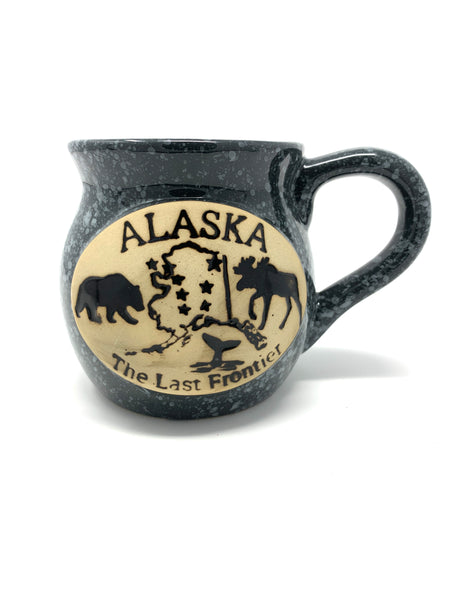 AK State Shape Shadow Mug