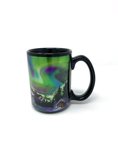 Northern Lights Metallic Mug