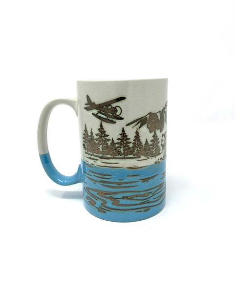 Bear/Float Plane Mug