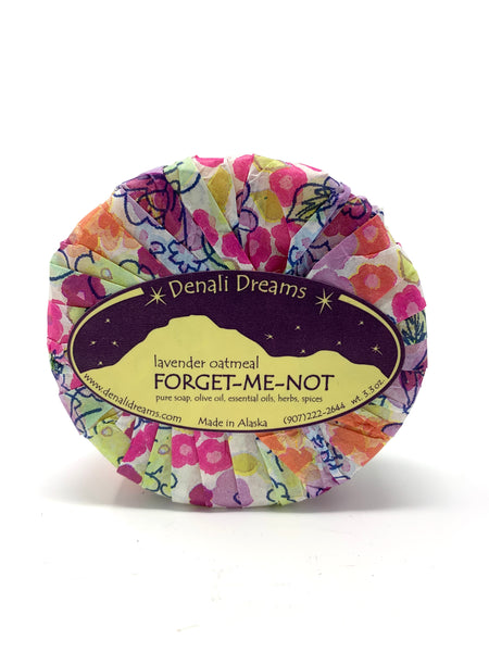 3.3oz Forget Me Not Soap